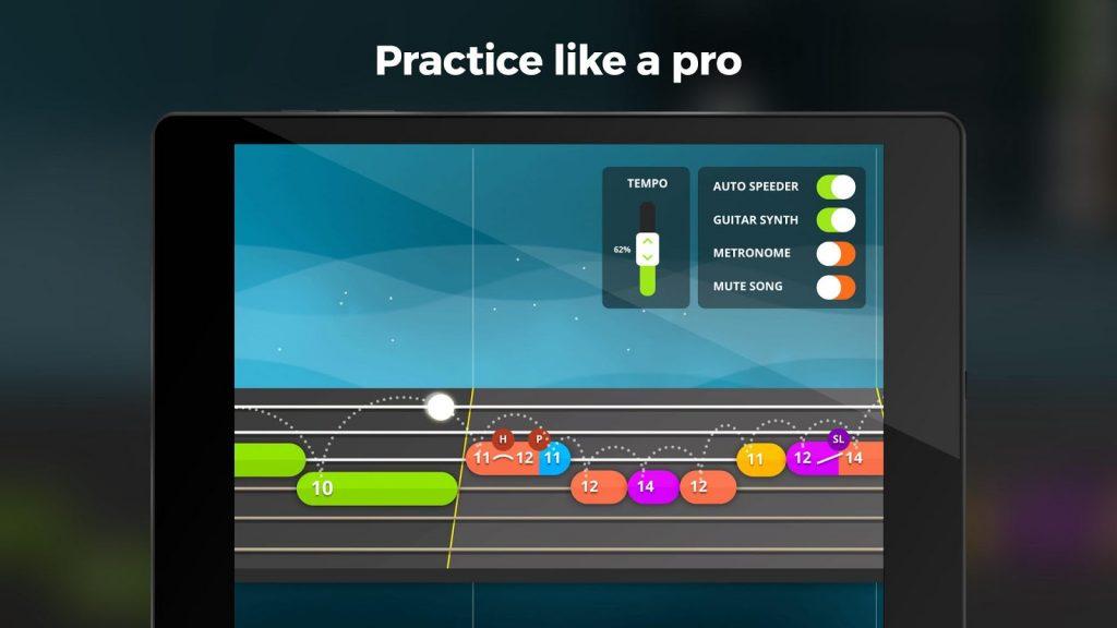 Aprender a tocar instrumentos en Android