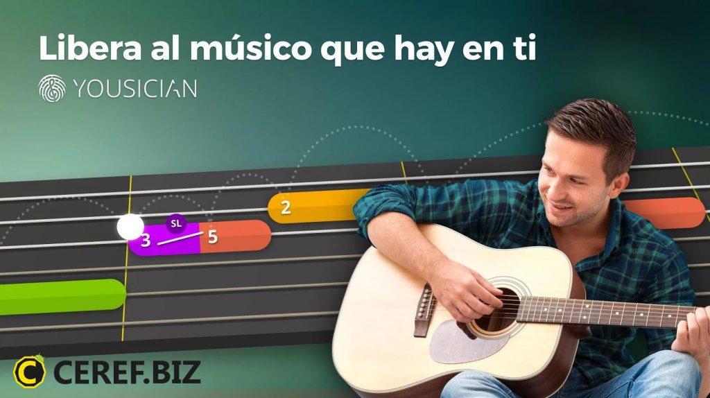 Aprender a tocar la guitarra con Yousician