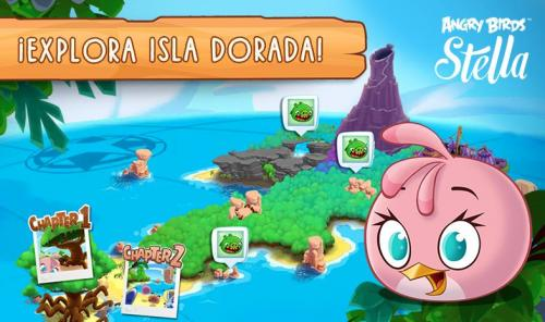 Angry Birds Stella para Android ya está disponible