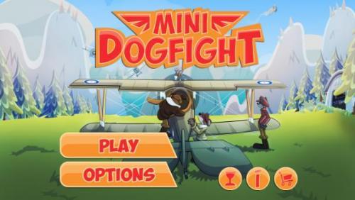 Mini Dogfight, las batallas de la I Guerra Mundial con perros y aviones